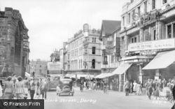 St Peter's Street c.1950, Derby