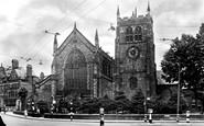 Derby, St Werburgh's Church c1955