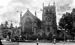 St Werburgh's Church c.1955, Derby