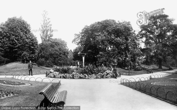 Photo of Derby, The Arboretum 1896