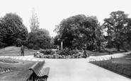 Derby, The Arboretum 1896