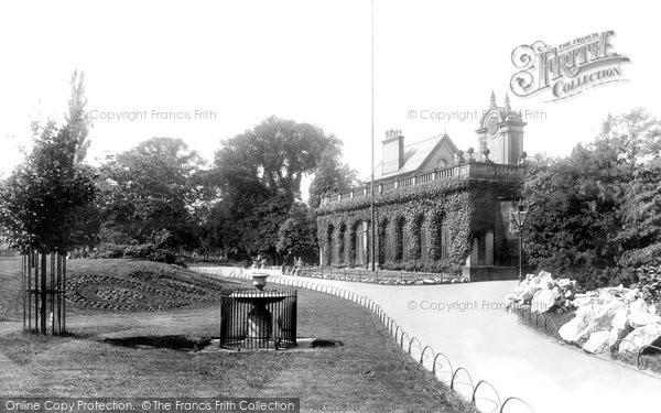 Photo of Derby, The Arboretum Arcade 1896