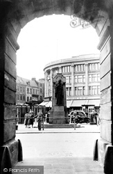 Derby, The Cenotaph c.1955