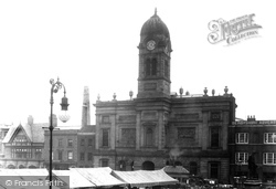 Derby, The Guildhall 1896