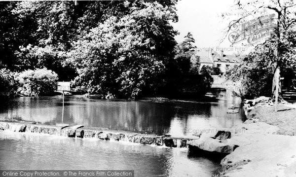 Derby, the Lake, Markeaton Park c1960