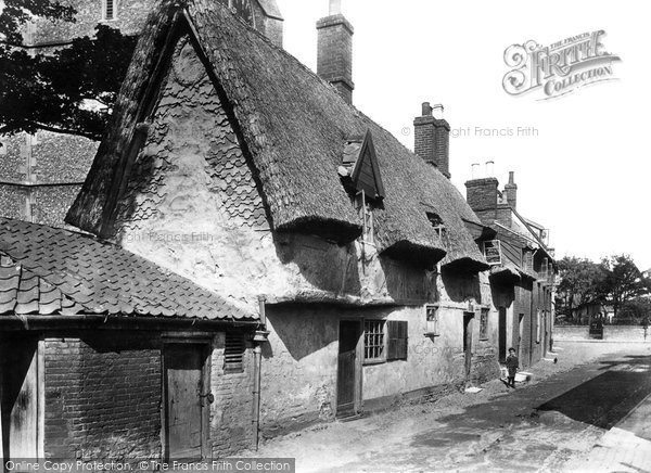 Photo of Dereham, Bishop Bonner's Cottage 1898