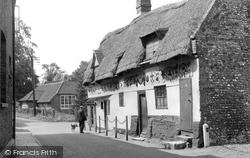 Bishop Bonner's Cottage c.1955, Dereham