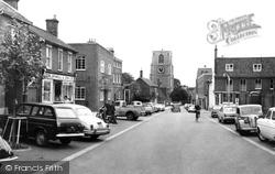 Church Road c.1965, Dereham