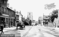 Church Street 1893, Dereham