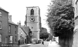 Church Street c.1955, Dereham