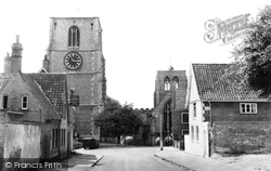 Church Street c.1965, Dereham