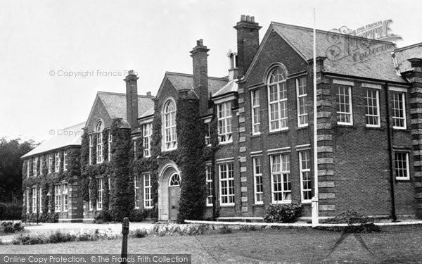 Photo of Dereham, Girls High School c.1955