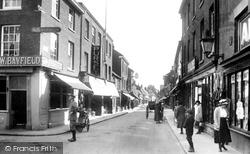 High Street 1922, Dereham