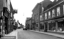 High Street c.1960, Dereham