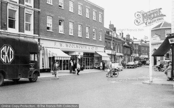 Photo of Dereham, High Street c.1965