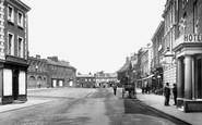 East Dereham, Market Place 1893