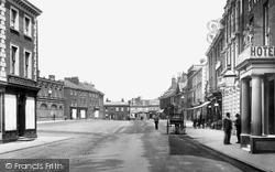 Market Place 1893, Dereham