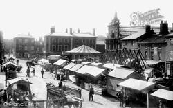 Market Place 1898, Dereham