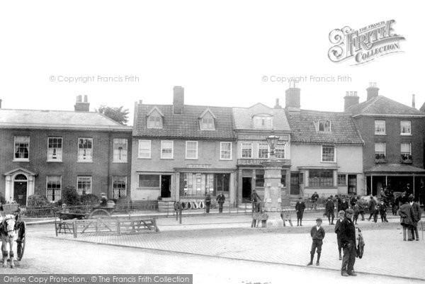 Photo of Dereham, Market Place 1901
