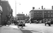 East Dereham, Market Square c1955