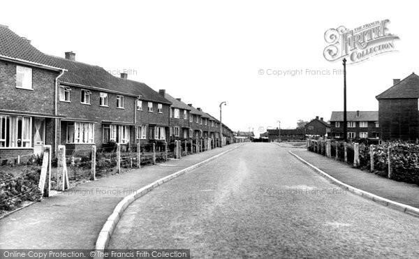 East Dereham, Moorgate Estate c1955