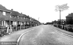 Moorgate Estate c.1960, Dereham