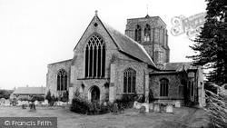 St Nicholas's Church c.1965, Dereham