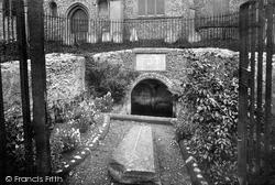 St Withburga's Well 1922, Dereham