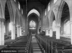 The Parish Church c.1955, Dereham