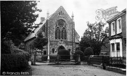 Trinity Methodist Church c.1960, Dereham