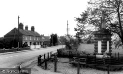 Memorial And Hunstanton Road c.1965, Dersingham