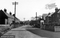 Post Office Road c.1965, Dersingham