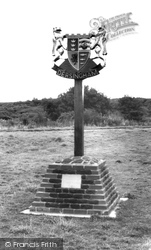 Village Sign c.1965, Dersingham