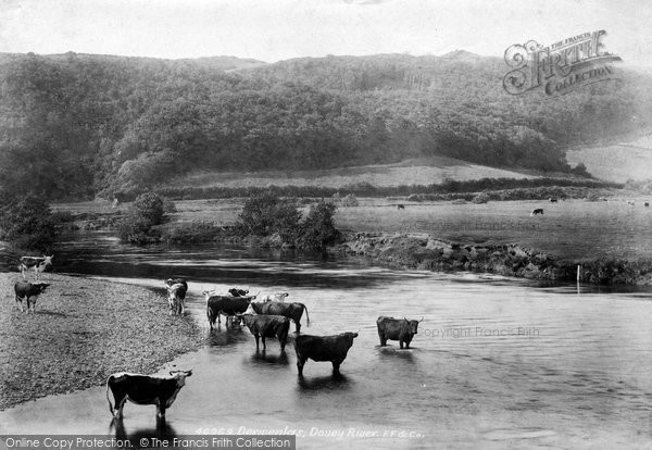 Photo of Derwenlas, Dovey River 1901