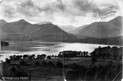 And Newlands Valley 1906, Derwent Water