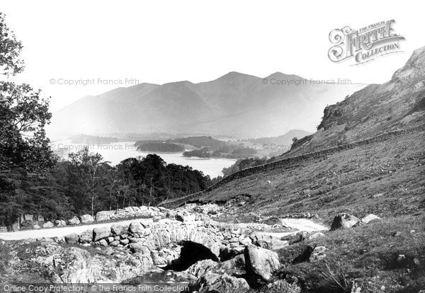 Photo of Derwent Water, Ashness Bridge 1893, ref. 32871