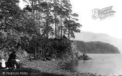Friar's Crag 1889, Derwent Water