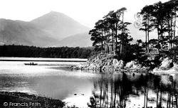 Friar's Crag And Causey Pike 1906, Derwent Water