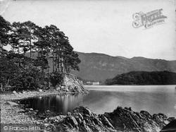 Friar's Crag c.1873, Derwent Water