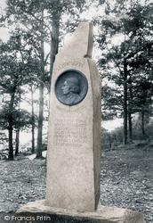 Friar's Crag, The Ruskin Monument 1906, Derwent Water