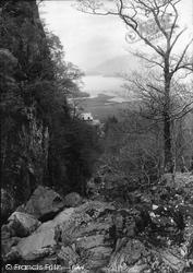 From Above Lodore 1889, Derwent Water