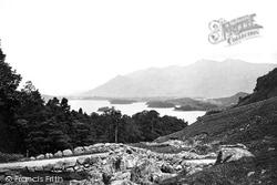 From Ashness Bridge c.1873, Derwent Water