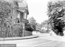 Detling, Detling Hill c.1955