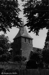 Detling, St Martin Of Tours' Church c.1955