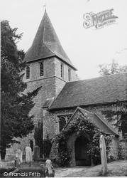 Detling, St Martin Of Tours' Church c.1960