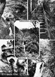 Composite c.1955, Devil's Bridge