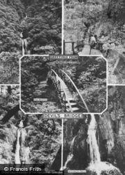 Composite c.1960, Devil's Bridge