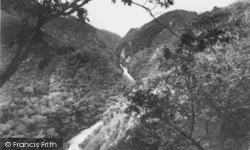Cyfarllwyd Falls c.1960, Devil's Bridge
