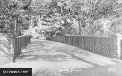 The Cafe c.1955, Devil's Bridge