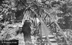 The Circular Bridge c.1955, Devil's Bridge